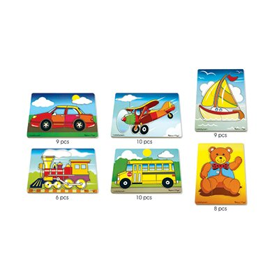 Melissa and Doug First Puzzle Set