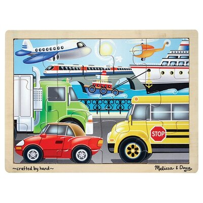 Melissa and Doug On The Go Wooden Jigsaw Puzzle