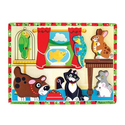 Melissa and Doug Pets Chunky Wooden Puzzle