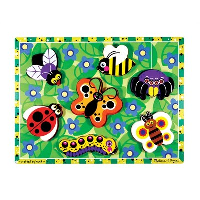 Melissa and Doug Bugs Chunky Wooden Puzzle