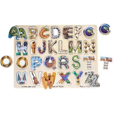 Melissa and Doug Alphabet Art Puzzle