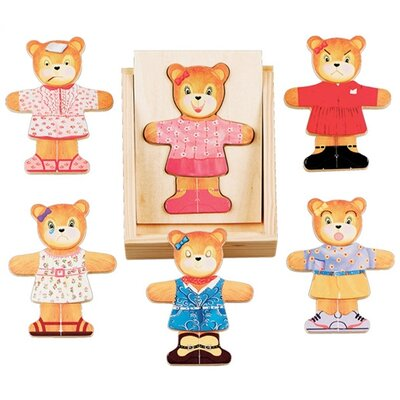 Melissa and Doug Bear Dress-Up Puzzle