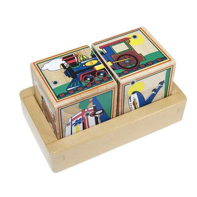 Melissa and Doug Vehicles Sound Blocks Matching Game