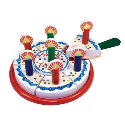 Melissa and Doug 6 Piece Birthday Party Play Set