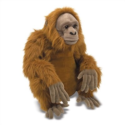 Melissa and Doug Orangutan Plush Stuffed Animal