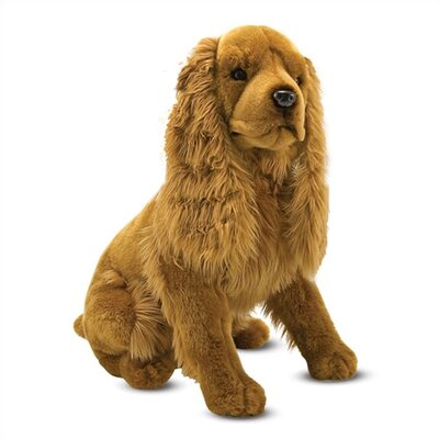 Melissa and Doug Cocker Spaniel Plush Stuffed Animal
