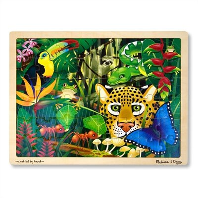 Melissa and Doug Rainforest Wooden Jigsaw Puzzle