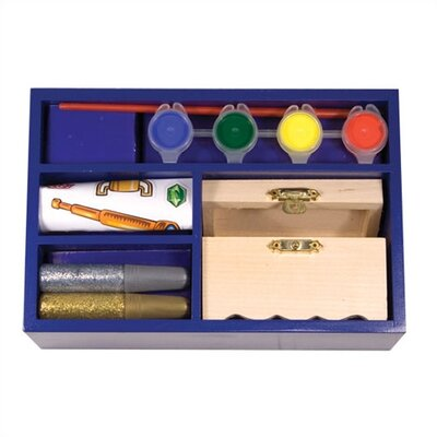 Melissa and Doug DYO Treasure Chest Arts & Crafts Kit