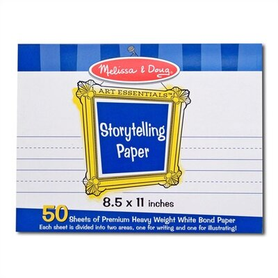 Melissa and Doug Storytelling Paper Pad
