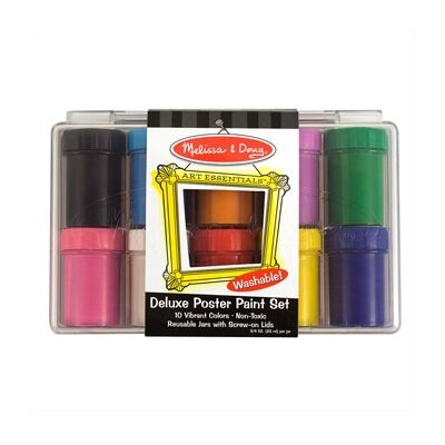 Melissa and Doug Deluxe Poster Paint Set