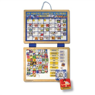 Melissa and Doug Magnetic Calendar