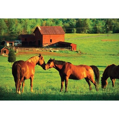 Melissa and Doug Kissing Horses Cardboard Jigsaw Puzzle