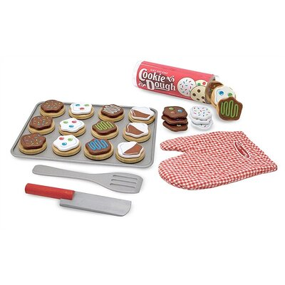 Melissa and Doug 30 Piece Slice and Bake Cookie Set
