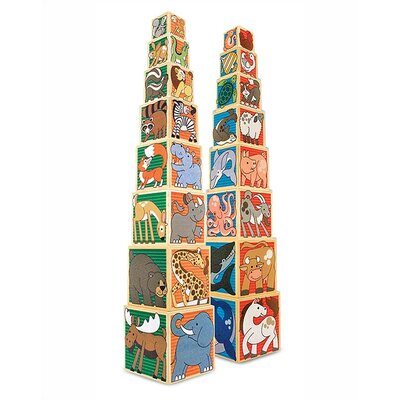Melissa and Doug Wooden Animal Nesting Blocks