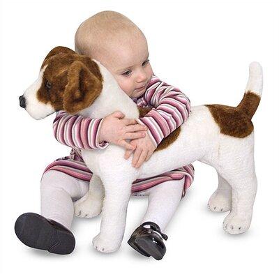 Melissa and Doug Plush Jack Russell Terrier Stuffed Dog