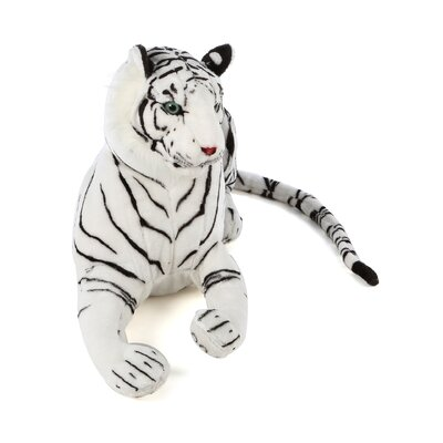 Melissa and Doug White Tiger Plush Stuffed Animal