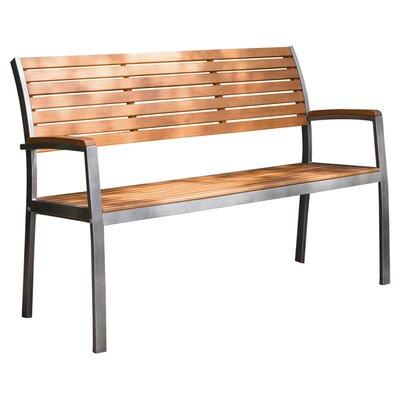 Innova Hearth and Home Lancaster Steel Park Bench & Reviews  Wayfair