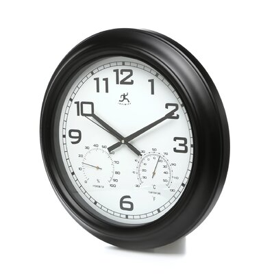 Seer Indoor/Outdoor Wall Clock