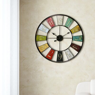 Infinity Instruments Kaleidoscope Wall Clock