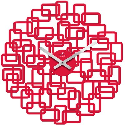 "Infinity Instruments 19"" Helix Wall Clock"