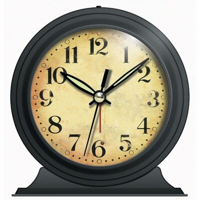... Instruments Antique Look Metal Alarm Clock & Reviews  Wayfair