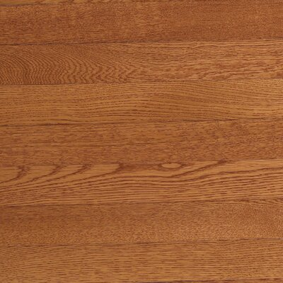 "Somerset Floors Value Strip 2-1/4"" Solid White Oak Flooring in Saddle"