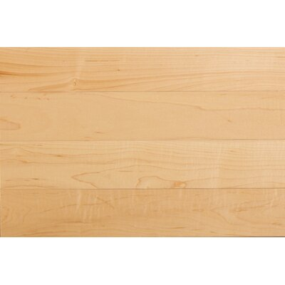"Somerset Floors Solid 5"" Maple Plank in Natural"