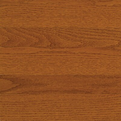 "Somerset Floors High Gloss 3-1/4"" Engineered Red Oak Flooring in Gunstock"