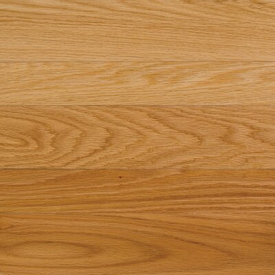 "Somerset Floors High Gloss 5"" Engineered Red Oak Flooring in Natural"