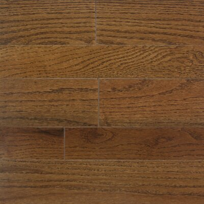 "Somerset Floors Homestyle 3-1/4"" Solid Red Oak Flooring in Provincial"