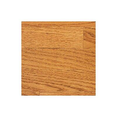 "Somerset Floors Color Strip 3-1/4"" Solid Red Oak Flooring in Golden"