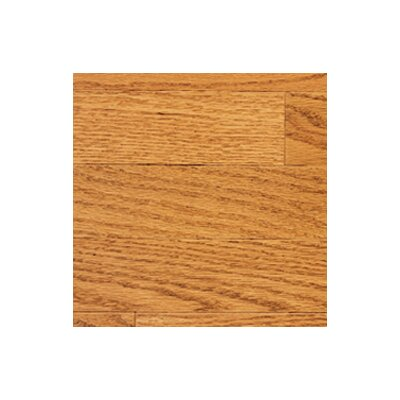 "Somerset Floors Color Strip 3-1/4"" Solid Red Oak Flooring in Golden"