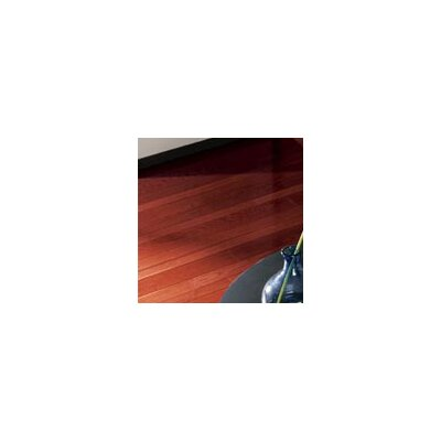 "Somerset Floors Color Strip 3-1/4"" Solid Red Oak Flooring in Cherry"