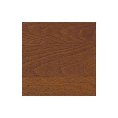 "Somerset Floors Color Strip 3-1/4"" Solid Red Oak Flooring in Mocha"