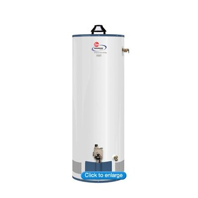 Rheem Fury AdvantagePlus Sealed Combustion 80 Gallon Natural Gas Commercial Water Heater