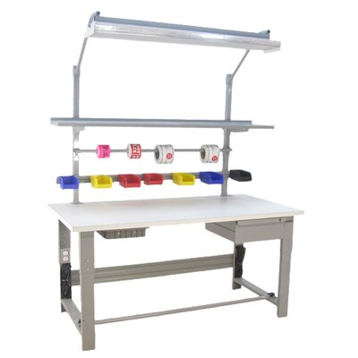 Bench Pro Roosevelt 1,600 lb Capacity Clas 100 Cleanroom Workbench