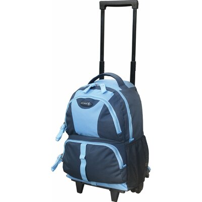 "Travelers Club 18"" Junior Rolling Backpack"