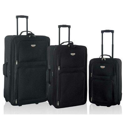 Genova 3 Piece Expandable Luggage Set