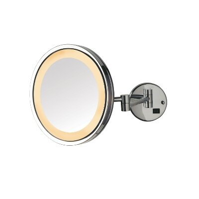 5X LED Halo Light Wall Mounted Mirror