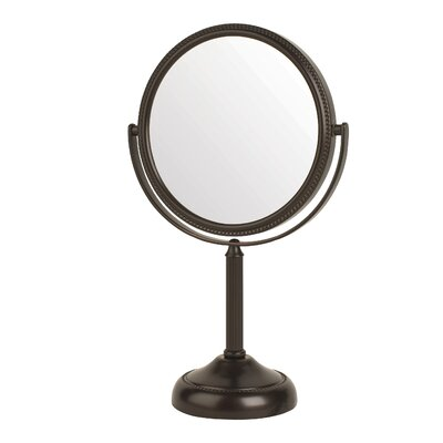 Dual Sided 10x Vanity Mirror