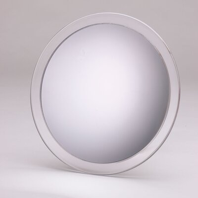 Portable 5x Suction Shower Mirror