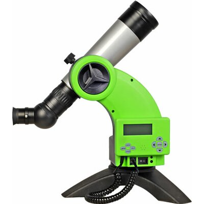Astroboy 60mm Computerized Table Telescope in Green