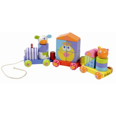 Boikido Wooden Shapes Train