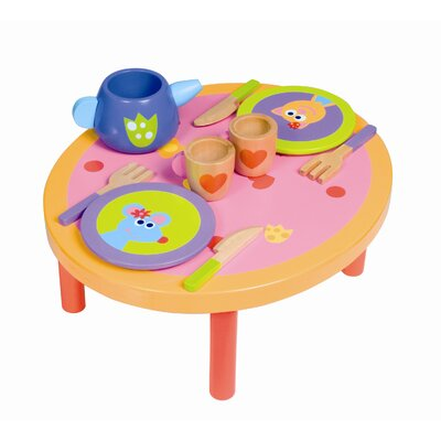 Boikido 10 Piece Wooden Dinner Set