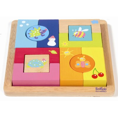 Wooden 4 Seasons Block Puzzle