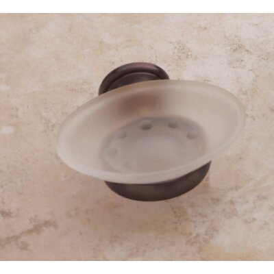 Baldwin Edgewater Soap Dish in Venetian Bronze