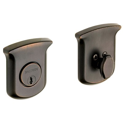 "Baldwin Tahoe 4.5"" x 4"" Deadbolt with Single Cylinder"