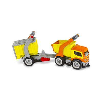 Wader Quality Toys Children's Grip Dump Truck with Trailer