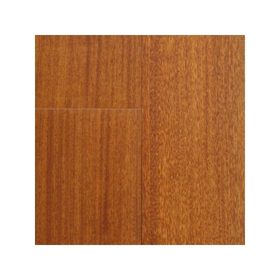 "Hawa Bamboo Exotic 3-5/8"" Solid Santos Mahogany Flooring in Natural"