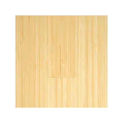 "Hawa Bamboo Prefinished Vertical 3-3/4"" Solid Bamboo Flooring in Natural Matte"